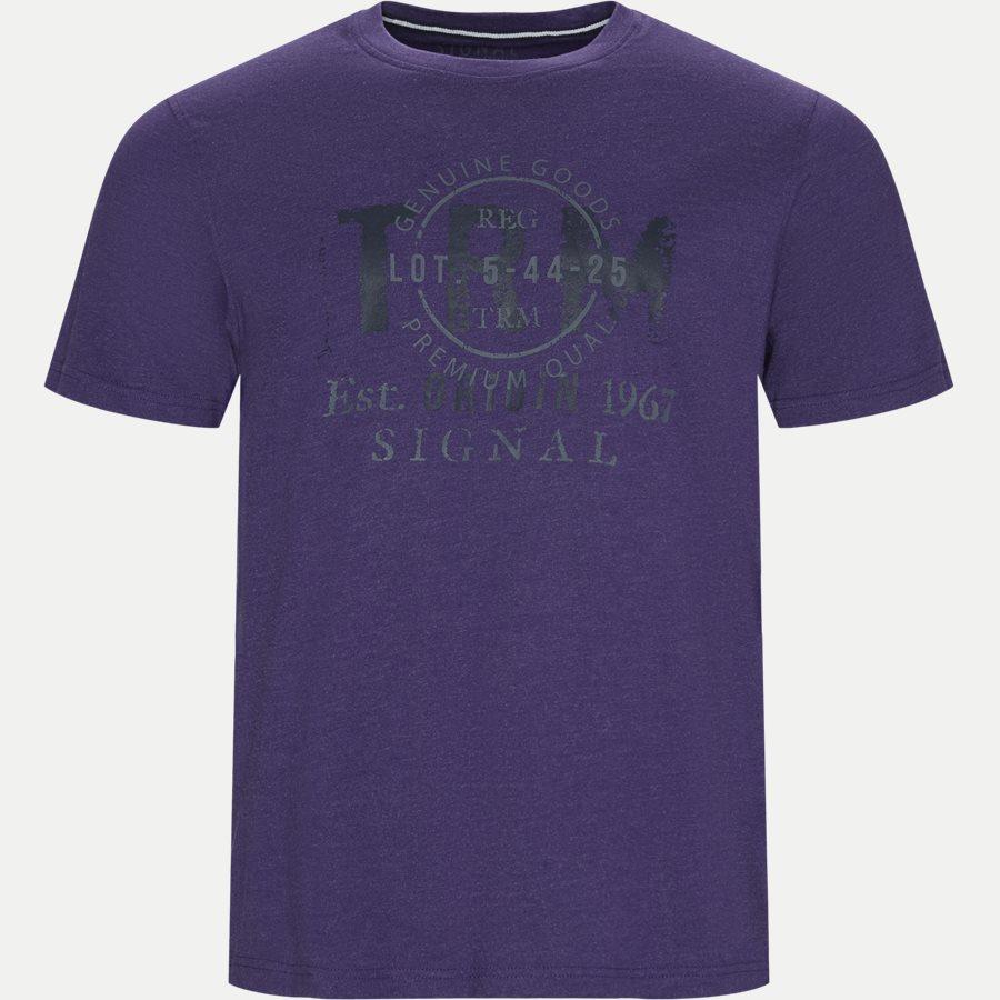WALTHER LOGO - Walter Tee - T-shirts - Regular - LILLA MELANGE - 1